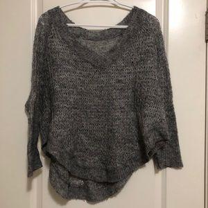Grey wool knit